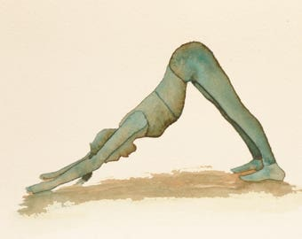 Original Yoga Watercolor Collection