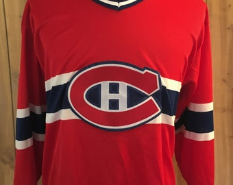 6ed64052f04 Vintage Patrick Roy Montreal Canadiens 1990s NHL Hockey CCM Sports Jersey -  hockey sweater - montreal hockey jersey (Medium)