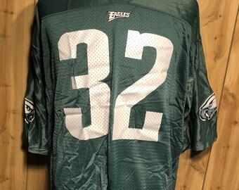 3f77860a8ed Vintage Ricky Watters Philadelphia Eagles Starter NFL Football 1990s Green  Jersey - vintage football jersey - vintage eagles nfl (Size 54)