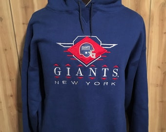 efa570126a8 Vintage New York Giants 1990s NFL Football Logo Athletic Hoodie Sweatshirt  - vintage nfl - vintage sweatshirt - giants sweatshirt (Large)