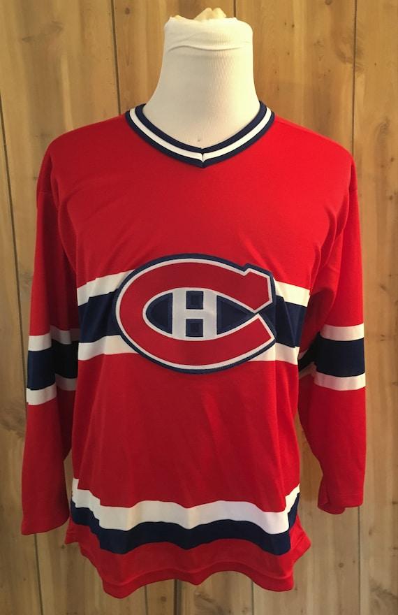 Vintage Patrick Roy Montreal Canadiens 1990s NHL H