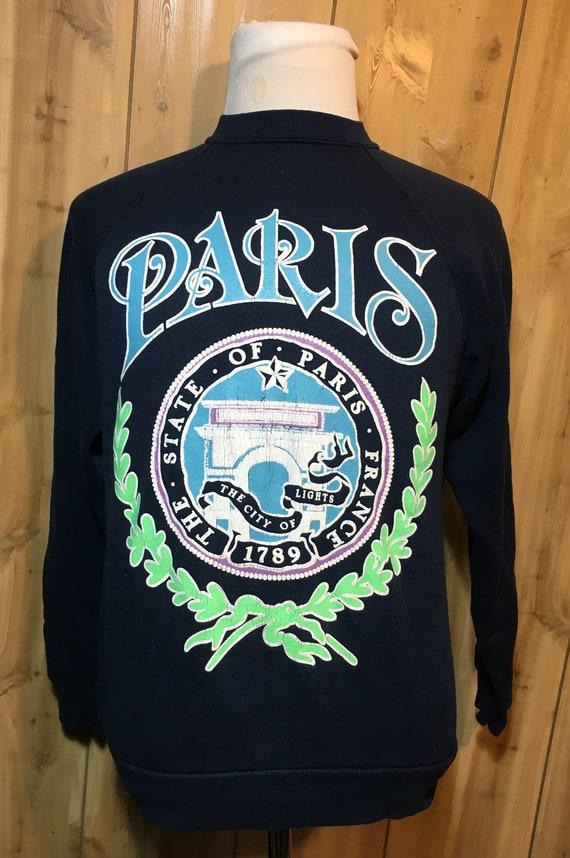 Vintage 80s City of Paris France 1980s Destination