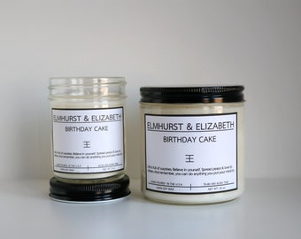 Cake Scented Candle