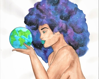 Mother Earth: Color Print