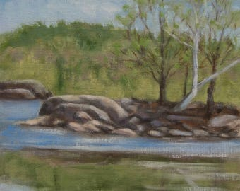 Oil Painting- Original Plein Air Landscape