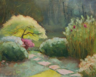 Oil painting - Original Plein Air Landscape