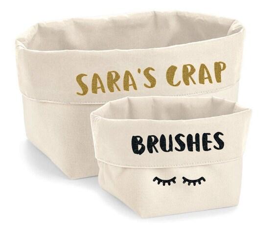 storage, storage baskets, cotton storage, bedroom storage, make up storage,  make up bag, make up box