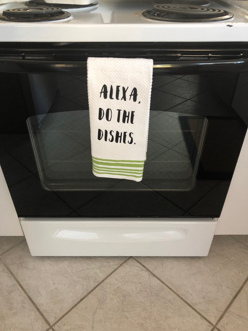 Personalized Kitchen Towel