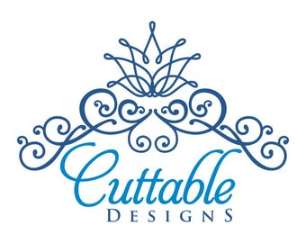Tiara crown princess Cuttable Design PNG DXF SVG & eps File Silhouette Designs Cameo