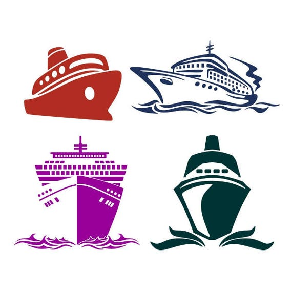 Cruise Boat Ship Cuttable Design Png Dxf Svg Amp Eps File Etsy