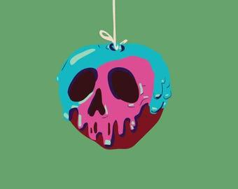 Poison Apple Illustration Print