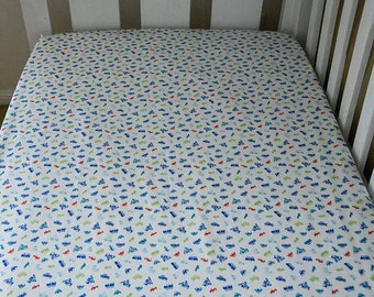 Fitted Cot Sheet (trucks and cars)