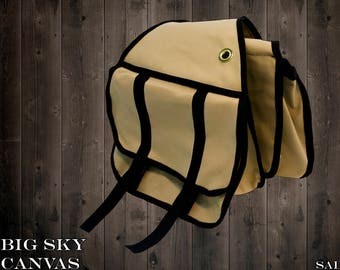 Big Sky Canvas Saddle Bag