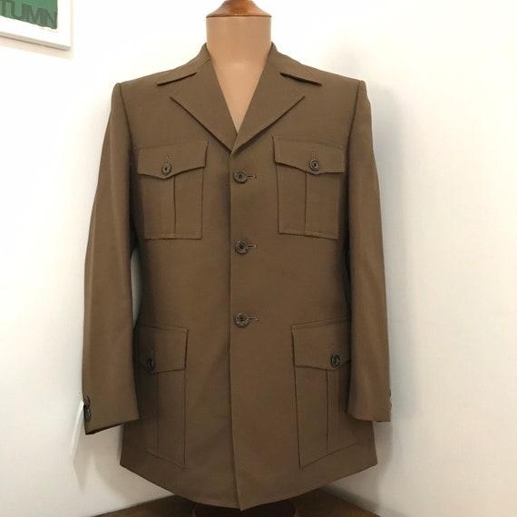 1970's Men's Long Sleeve Safari Suit - Never Worn
