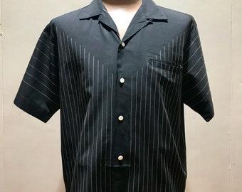 1960's Oleg Cassini Mens Shirt - Cotton