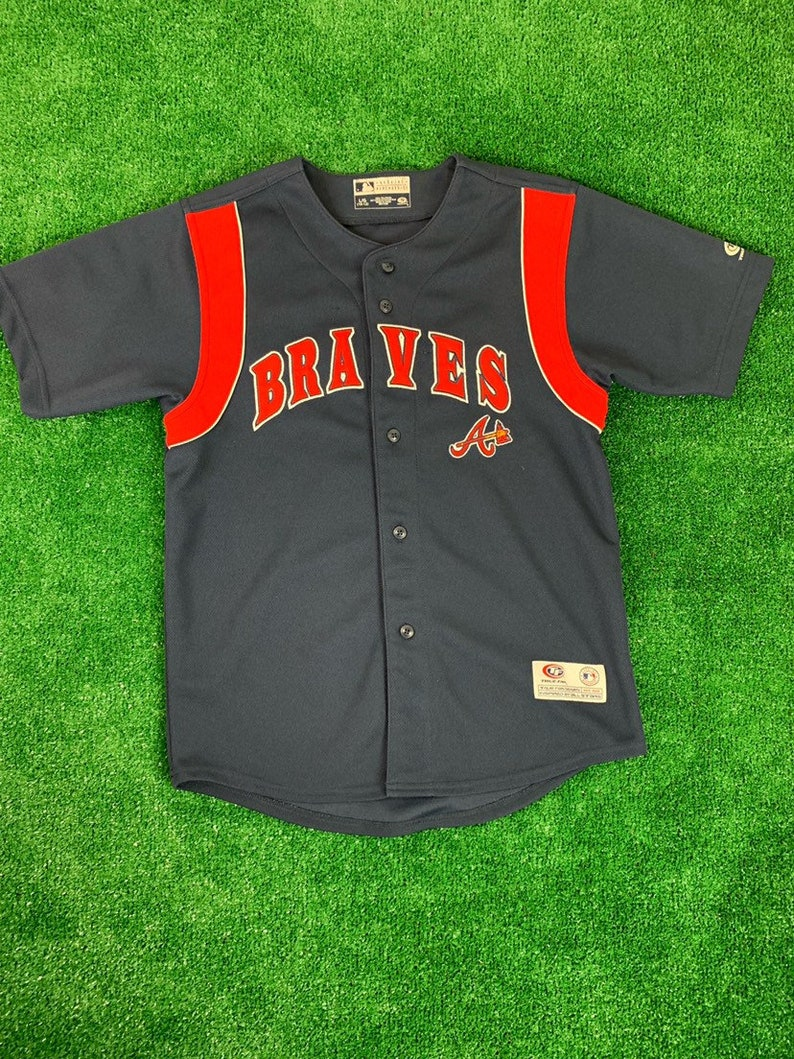pretty nice 60ec2 bd8b0 Atlanta Braves Youth Jersey