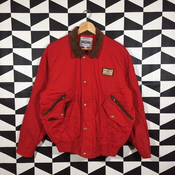 Vintage 90s Gem Bony Jacket Full Zip Gem Bony Snap