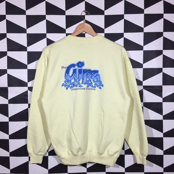 Vintage 90s Ben Aipa Sweatshirt Jumper Ben Aipa Cr