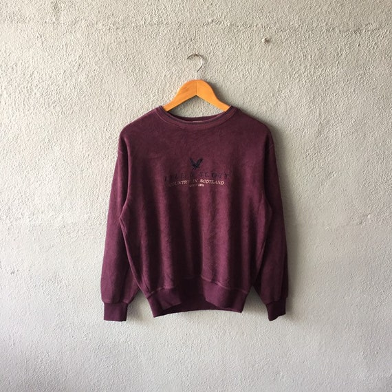 Vintage 90s Lyle and Scott Sweatshirt Lyle Scott C
