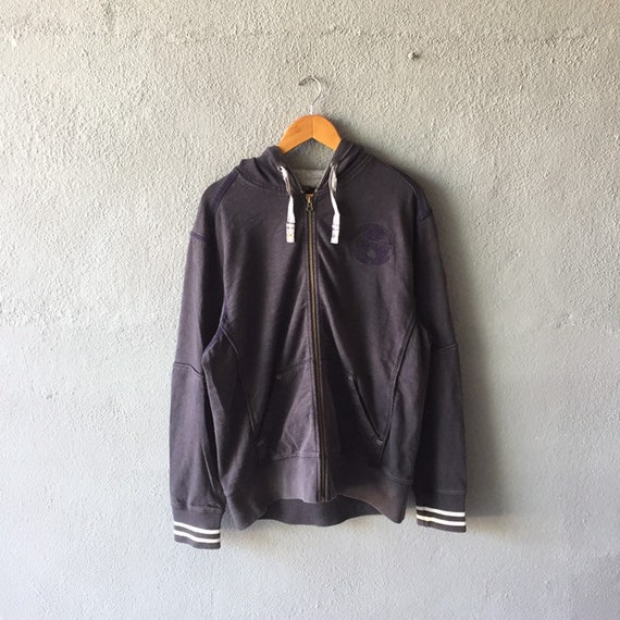 Vintage 90s Napapijri Hoodie Full Zip Napapijri Pu