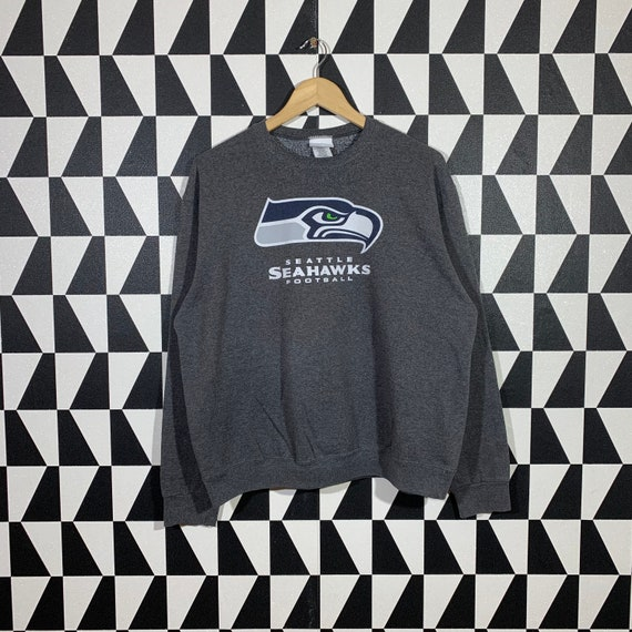 Vintage 90s NFL Seattle Seahawks Sweatshirt Seahaw