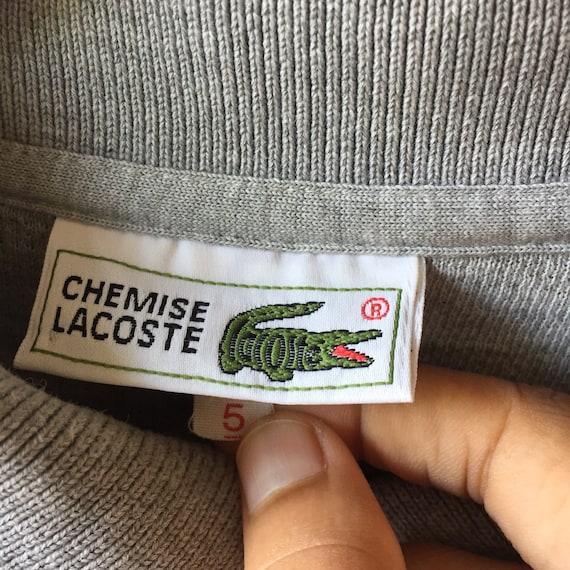 Etsy Lacoste Des Sweatshirt Petit Vintage Chemise Logo 90 Années wBAnqO8a