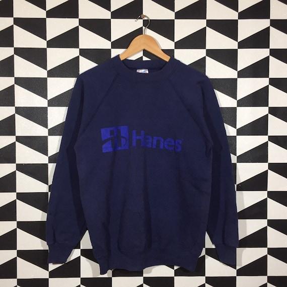 Vintage 90s Hanes Sweatshirt Hanes Crewneck Hanes