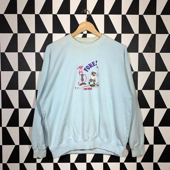Vintage 80s Pink Panther Sweatshirt Pink Panther C