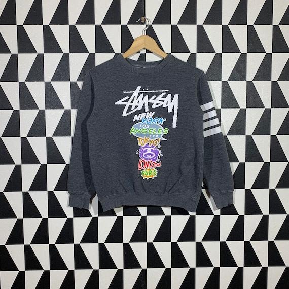 Vintage 90s Stussy Sweatshirt Stussy Crewneck Stus