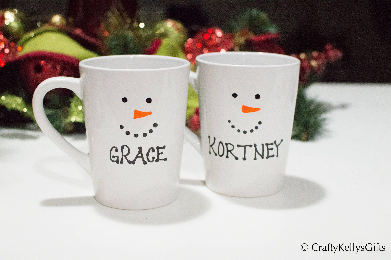 Personalized Hot Chocolate Christmas mug Personalized hot | Etsy