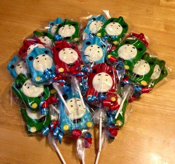 Thomas The Train Christmas Tree.Thomas The Train Lollipops