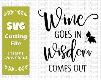 Wine Quotes Etsy