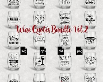 Wine Quote Etsy