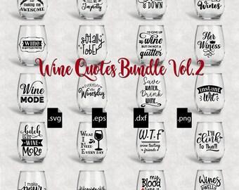 Wine Svg Etsy