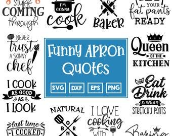 Apron prints svg Cooking SVG kitchen cut files kitchen quote svg Kisss the cook SVG Dish towel svg Cooking svg