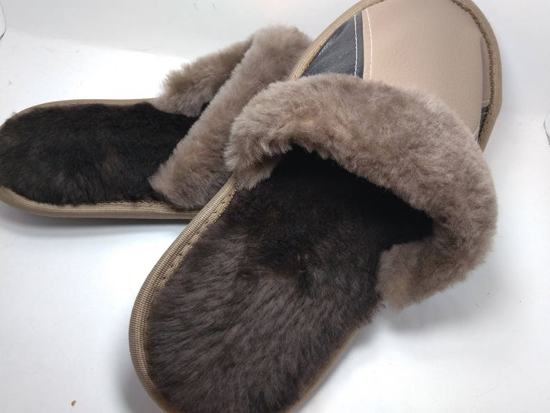6adae7aa035 Real Fur Flat Shoes Fluffy Flip Flop Slippers Sliders Sandals