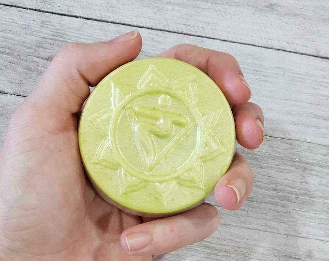 SOLAR PLEXUS Chakra Soap, Personal Power