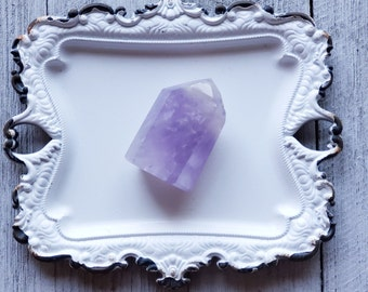 Standing Amethyst Polished Point, Grade A