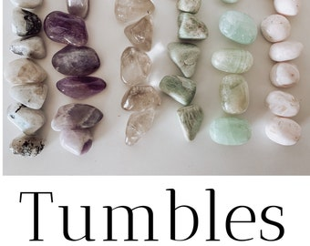 ONE Tumbled Pocket Crystal / Tumbled Stone / Healing Crystal