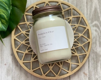 FALL COLLECTION // Large Soy Wax Candle, 14.8 oz, Vegan, Esssential Oils// 100 hr burn time