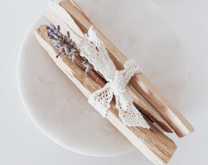 Featured listing image: Pretty Palo Santo bundle, 3 Palo Santo sticks, Smoke Cleansing, Positive Energy
