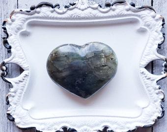 Labradorite Heart, Madagascar