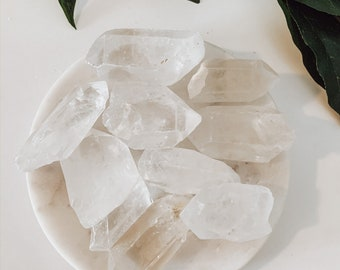 Gorgeous Clear Quartz Points, Large