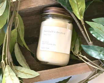 12 OZ Scented Soy Candles, Home Fragrance, Eco Vegan, Highly Scented, 80hrs