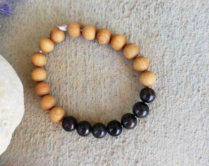 Blue Tigers Eye -  Bracelet | Stress Relief | Unisex