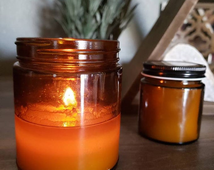 9 oz Highly Scented Soy Candle, Artisan Candle, Home Decor, Essential Oils