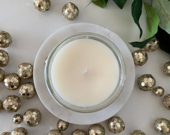 4 oz Ball Jar Holiday Soy Candles, Scented Candles, Gift