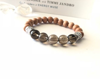 Grounding | Smokey Quartz Bracelet