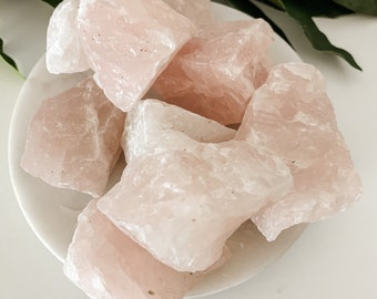 Rough Rose Quartz, Rose Quartz Stone, Chakras