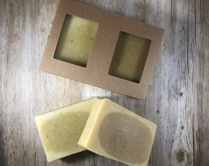 Frankincense & Myrrh - Holiday Handmade Soap Set